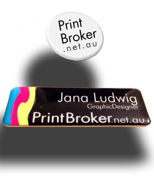 Pin_Name Badge Custom made design