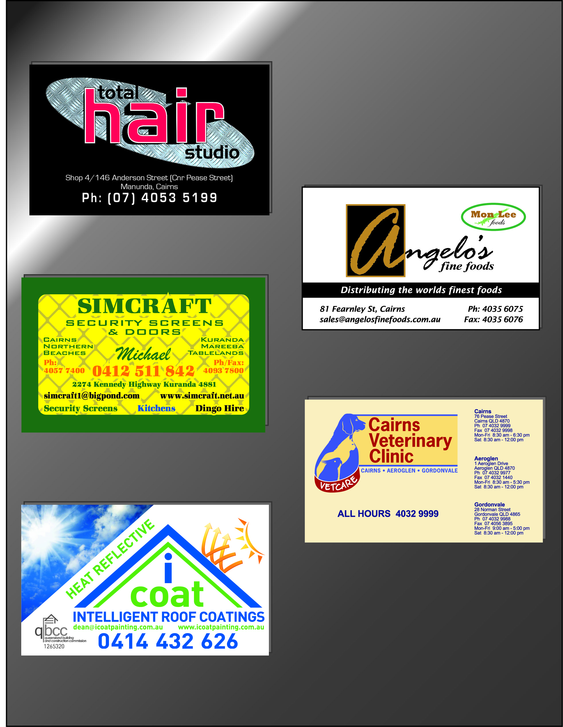 magnetic business cards print broker